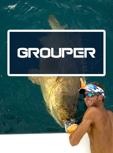 Native Angler Grouper Fishing